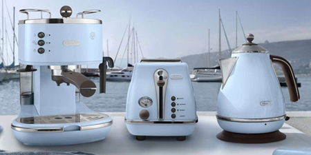 DeLonghi Icona Vintage Azur Collection