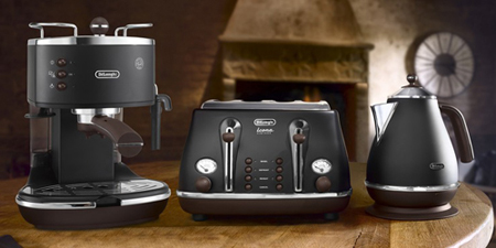 DeLonghi Icona Vintage Black Collection
