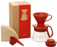 V60 1-Cup Gift Set Red (VDS-3012W)